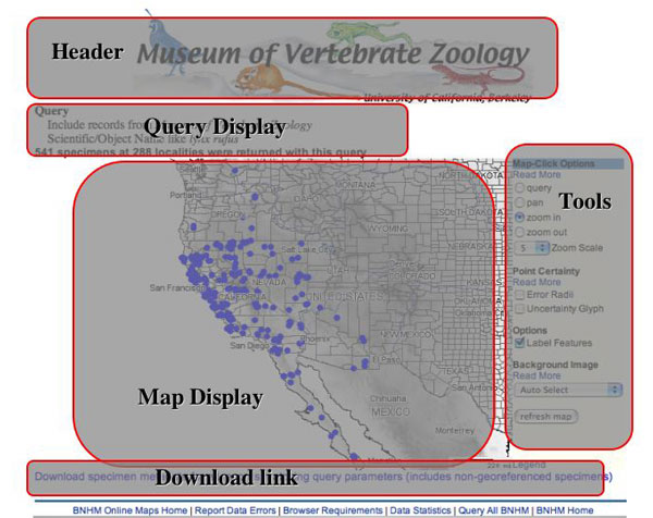 Ideal Interfaces to Natural History Collections Databases